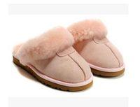 TRANSPORTE LIVRE 2020 de alta qualidade WGG quentes chinelos de algodão homens e mulheres chinelos de mulheres botas botas de neve chinelos Designer Algodão Indoor 02