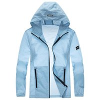 2020 summer fashion skin clothes ultra thin breathable coat UV resistant men's fast drying outdoor travel sun Suit Jacket Large