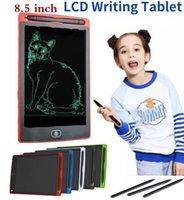 5 ألوان شاشات الكريستال السائل قرص الكتابة الرقمية المحمولة 8.5 بوصة لوحة الرسم بخط اليد وسادات اللوحي الإلكترونية للبالغين أطفال الأحدث