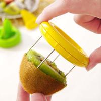 Mini cortador de frutas descascador de cozinha gadgets ferramentas para kiwi verde pitaya novo, kiwi peeler frutas paring faca zester