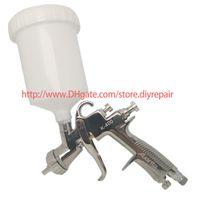 Professionelle Spritzpistole K-400 1.4mm Gravity-Feed Air Gun Set mit 600cc Tasse Sprühfarbe