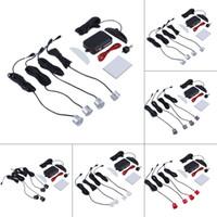 Kit de sensores de aparcamiento con pantalla led para coche 4 sensores 22 mm 12 v para todos los autos Sistema de monitor de radar de respaldo con asistencia inversa