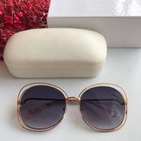 Color mixto, nuevas gafas de sol populares de lujo del capítulo las luxurysunglasses diseño circular Encuadre de calidad superior con la caja de protección UV