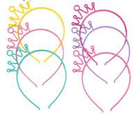 بنات آذان القط رباطات تاج تاج الأميرة مع البلاستيك الحيوانية الشعر الفرقة الفراشة القوس هوب اكسسوارات BOHO أغطية الرأس فتاة GB1355
