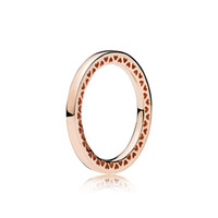 Anel de Abertura de Moda Clássico para Pandora 925 Jóias de Prata Esterlina com Caixa Original Elegante Senhoras Ring