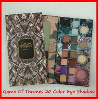 2019 New Eye Makeup Game Of Thrones Limited Edition Sombra 20 cores Matte Shimmer da composição Paleta Olhos Cosmetics