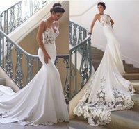 15084c79aee5 Wholesale backless spaghetti straps wedding dress for sale - Group buy  Popular Sell Mermaid Wedding Dresses