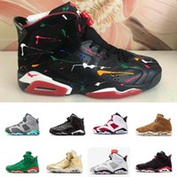 Basketball Shoes Sneakers 6 6s METALLIC GOLD Mens Man Tinker...