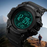 SKMEI Moda Esportiva dos homens Relógios de Energia Solar Relógio Masculino Digital de Pulso À Prova D 'Água Eletrônico Relógio de Pulso Dos Homens Relogio Masculino 1356