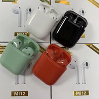 Mi12 TWS Mini Wireless Bluetooth 5. 0 Headphones Earbuds Earp...
