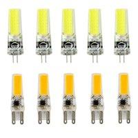 LED G4 G9 Lampple AC / DC Diming 12V 220V 2W 3W 4W 5W COB SMD led Lighting Lights replace Halogen Spotlight Chandelierier