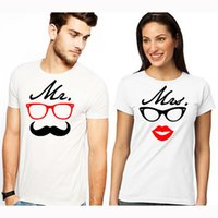 EnjoytheSpirit Mr and Mrs Couples T- Shirts Set Gift for Coup...