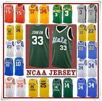 NCCA Jersey Kawhi Leonard James Iverson Erkekler 23 LeBron Durant 13 Harden Curry Stephen kolej basketbol Formalar Russell Westbrook Men4