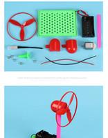 Creative Technology modèle manuel pour les enfants de ventilateur contrôle de la température petite production expérience scientifique gros matériel