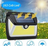 163 COB LED Solar Light Available in extreme weather PIR Mot...