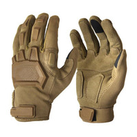 guanti tattici Touch Screen Airsoft Paintball Army Forces Army Men antiscivolo escursionismo bicicletta piena Finger Gloves palestra