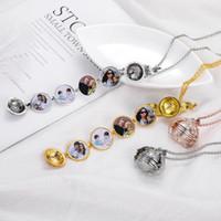 Collana ciondolo medaglione Galleggiante di memoria foto medaglione magico per donna