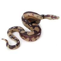 Juegos de novedad Juegos de cerebro Juguetes Ciencia Centleta Niños Insecto Insecto Insecto Enseñanza Gracioso Gadget Toy Regalo Niños Python Simulación Modelo de serpiente COBRA