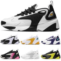 NIke Air Zoom 2020 Running Shoes 2K Zoom M2K Trainers Mens Womens Black White Creamy Branco Red Light Orewood Marca Designer Luxo Sneakers 36-45