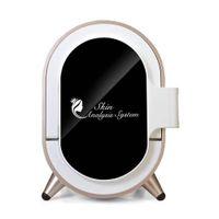 عالية الجودة المرآة السحرية محلل الجلد آلة محمولة مع انخفاض الأسعار استخدم لصالون سبا استخدام المنزلي