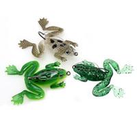 1 개 3 색 6 센치 메터 5 그램 개구리 후크 낚시 후크 낚시 후크 단일 후크 부드러운 미끼 미끼 인공 미끼 Pesca 낚시 태클 액세서리