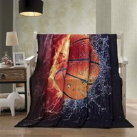 Basketball New Blankets for Beds 3D Lightning Guitar Pattern...