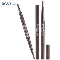 Augenbrauenstift 2 in 1 Kosmetik Make-up Double Head Bleistift mit Bürsten-Wasserdicht für freies Verschiffen