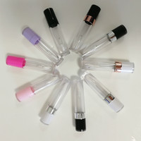 Cosmetica all'ingrosso rotonda Lipgloss Packaging Contenitori unico Cancella Lip Gloss tubi vuoti Lipgloss tubo bottiglia bottiglie contenitore di viaggio