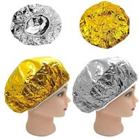 Aluminum Foil Waterproof Caps Portable Disposable Spa Hair S...