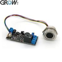 GROW K202 + R503 DC12V Faible Consommation Anneau Voyant capacitif d'empreintes digitales Conseil de contrôle d'accès