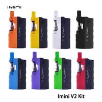 Imini V2 시동기 장비 650mAh 예열 상자 건전지 유형 510 실 0.5ml 또는 1.0ml 수용량 카트리지 기화기 E Cigarette Vape Pen