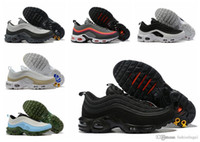 Luxe Chaussures Hommes Designer Running Man Offre Casual fendus Blanc Vert Noir multi Formateurs Chaussures de sport Chaussures de sport Air Taille US Taille 7-12
