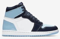 New 1 High OG UNC Patent WMNS ASG Obsidian Blue Chill White ...