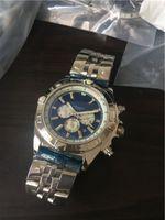 La alta calidad del reloj masculino de los hombres reloj mecánico de acero inoxidable relojes automáticos de la fecha auto del reloj para hombre 209-2