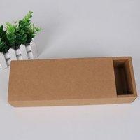 친환경 크래프트 종이 판지 서랍 상자 양말 속옷 선물 스토리지 종이 상자 색상 혼합 LX2121 포장