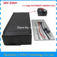 36V 1000W EBike batarya 36V Lityum batarya 36V 23AH 23.2AH Panasonic 2900mah hücre 30A BMS kullanın