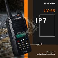 2020 BAOFENG UV-9R 5 W Su Geçirmez Walkie Talkie Yüksek Güçlü CB Jambon 10 KM Uzun Menzilli UV9R Avcılık için Taşınabilir İki Yönlü Radyo
