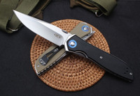 Tolleranza 0372 sistema di cuscinetti ZT Zero ZT0372 9Cr18MoV sfera G10 ZT coltello pieghevole natale coltello regalo per l'uomo FACA