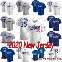 2020 New 35 Cody Bellinger Walker Buehler Enrique Hernandez A.J. Pollock Justin Turner Clayton Kershaw Corey Seager Alex Wood Jersey