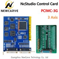 3 Eksen Nc Stüdyo 3G Hareket Kontrolü Koparma Kurulu Kontrol Sistemi PCIMC-3G için CNC Router 5.4.88 5.4.96 Sürüm NEWCARVE