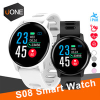 S08 per apple Smart Watch Ip68 Impermeabile cardiofrequenzimetro smartwatch Bluetooth Smartwatch Activity Fitness tracker Band