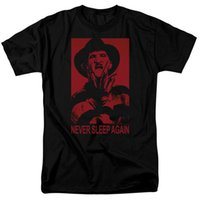 e591acf5359 A Nightmare On Elm Street Men S Black T Shirt 80s Horror Movie ...