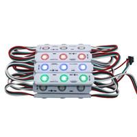 WS 2811 Wtrysk IC LED Pixel Moduł Światła do znaków Listów SMD 5050 RGB Dream Color DC12V Wodoodporna WS2811 Punkt Docelowy Light
