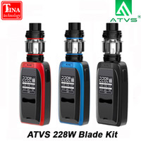 ATVS 228W Blade Electronic Cigarette Kit With 5ml 510 Thread...
