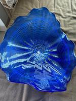 Горячая продажа Wall Декоративных ручная выдувная боросиликатного стекло стена Плита из дутого стекла Офисных стен выдувного Glass Art Wall Plates