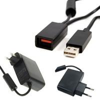 USB AC محول التيار الكهربائي كابل لأجهزة إكس بوكس 360 XBOX360 الاستشعار Kinect