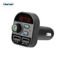 لاعب بلوتوث سيارة MP3 اف ام الارسال اللاسلكي سيارة استقبال الصوت محول دعم TF مع 5V الإضافية 3.1a سريع USB شاحن سيارة