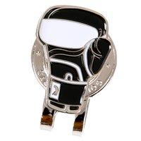 Magnéticos clips de la pelota de golf del marcador del sombrero del golf de Cap cinturón de lazo con guante de golf del diseño del modelo, 2 colores disponibles para su elección