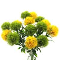 Künstliche Blumen Grün Real Touch Löwenzahn Gefälschte Simulation Pflanzen Kunststoff Blumen Hause Hochzeitsdekoration Länge 25 cm