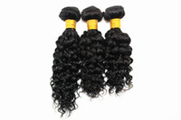 موجة المياه ملحقات الشعر البشري 3 أو 4 حزم البرازيلي الهندي 100٪ عذراء الشعر البشري ينسج اللون الطبيعي 8-28 بوصة